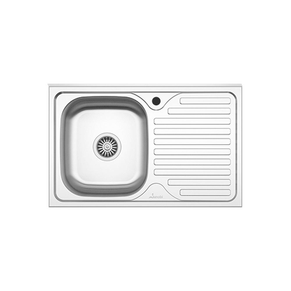 CHIUVETA INOX 1001.MSM 80x50 1C1P ST. SANOBI (1/10)