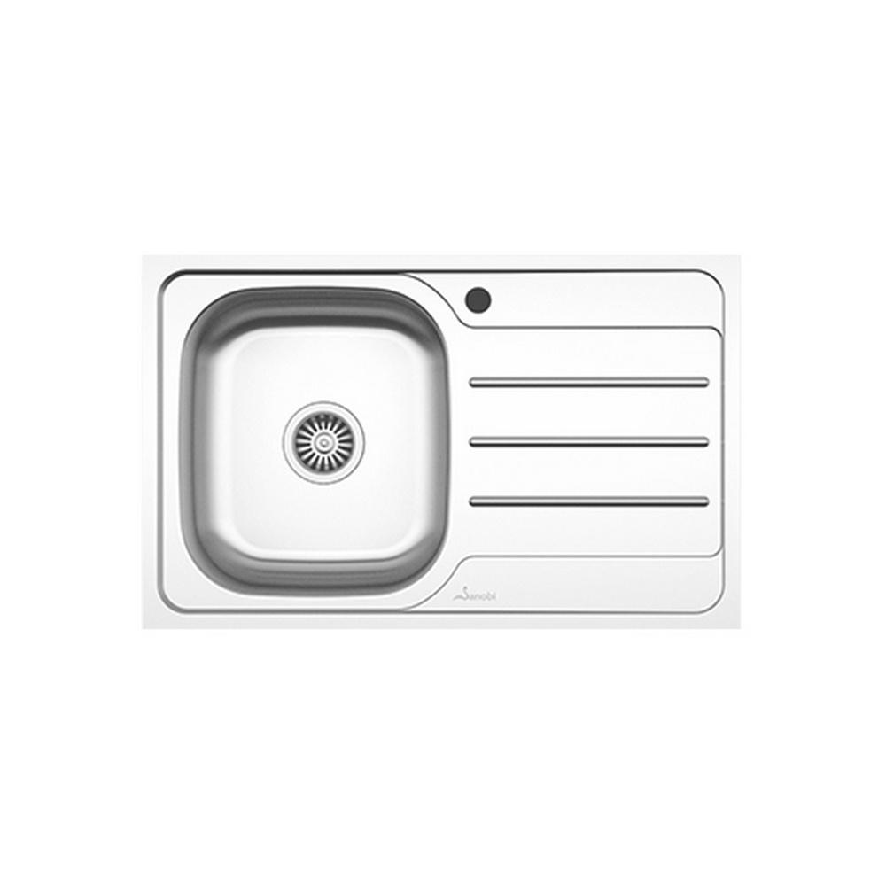 CHIUVETA INOX 2031.BSM-XXL 800x500 1C1P ST. SANOBI (1/1)