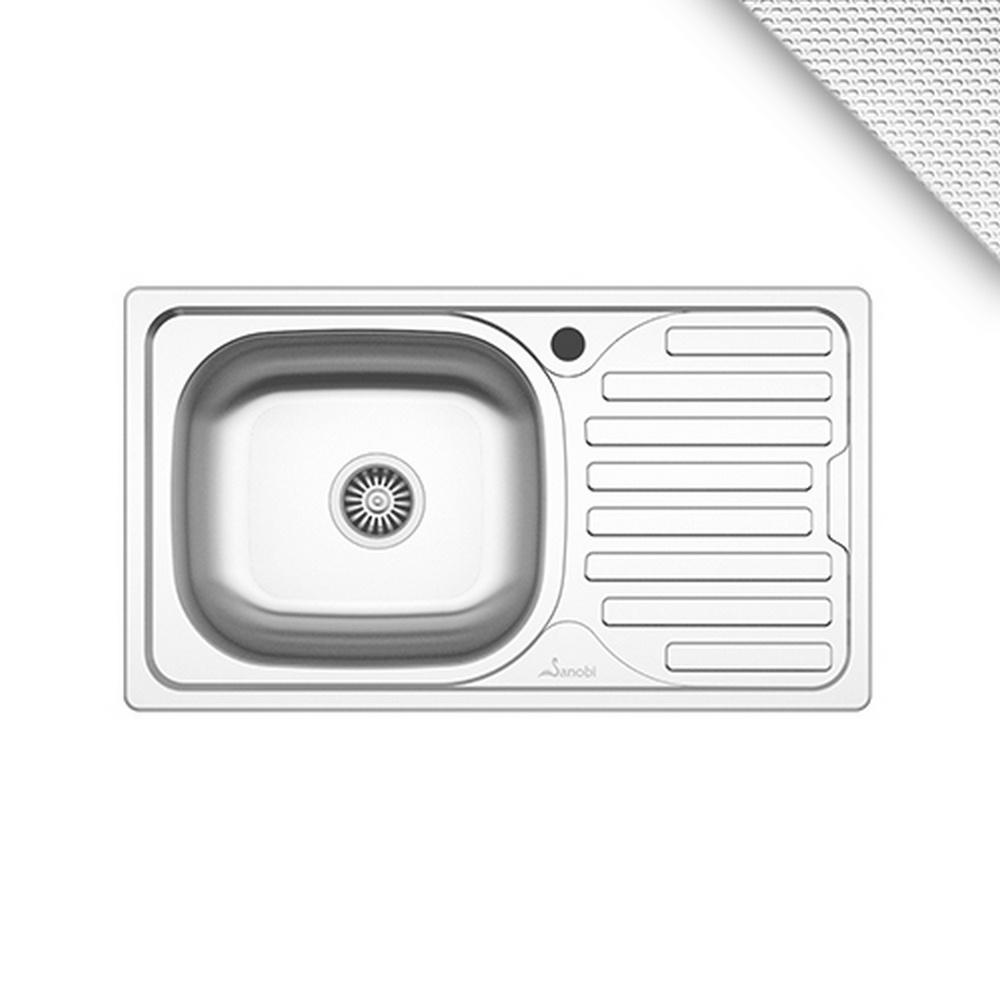 CHIUVETA INOX 2101.BSL 760x435 1C1P ST.LN SANOBI (1/10)