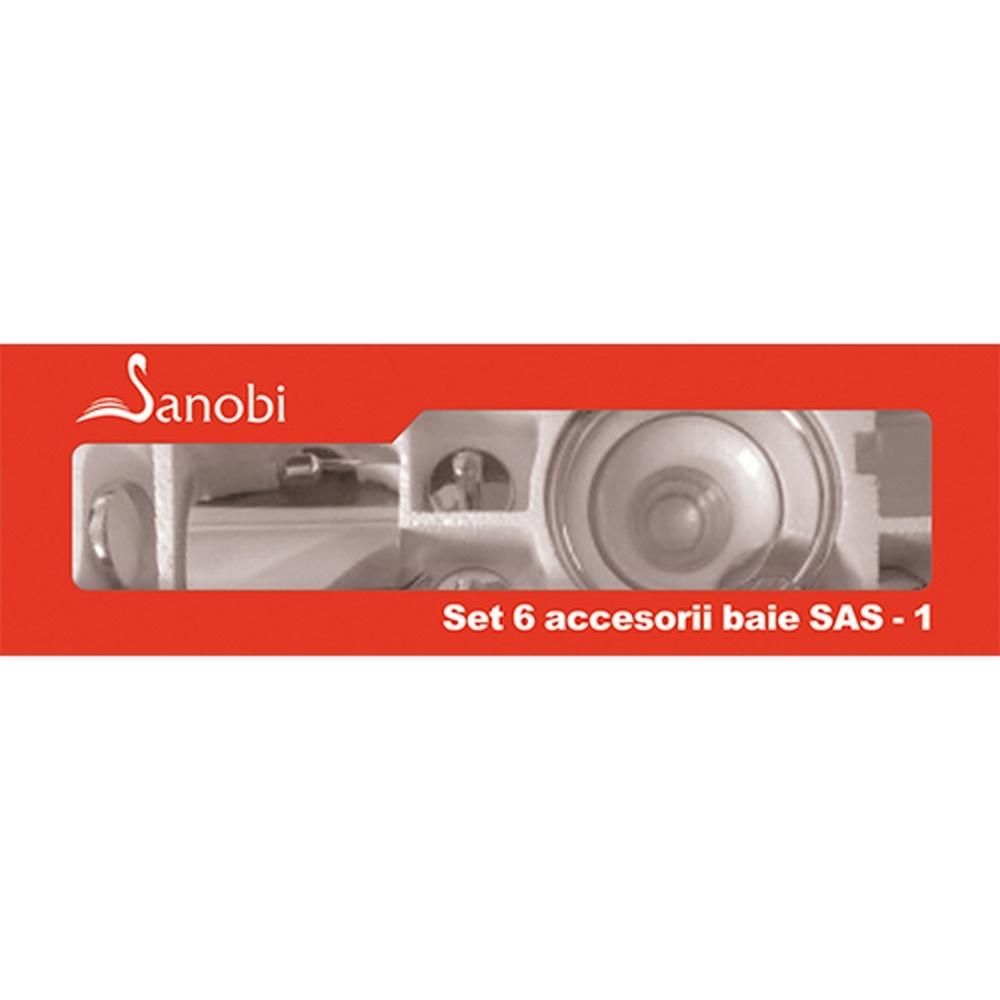 SET 6 ACCESORII BAIE SAS-1 (SA-02/04/05/07/08/09) SANOBI (1/10)